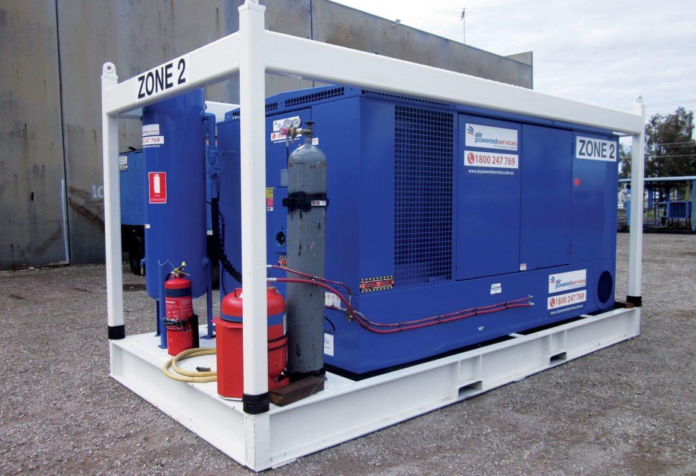Zone 2 air compressor